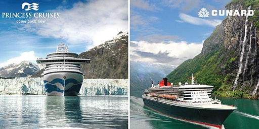 Alaska Cruise Presentation with Princess and Cunard