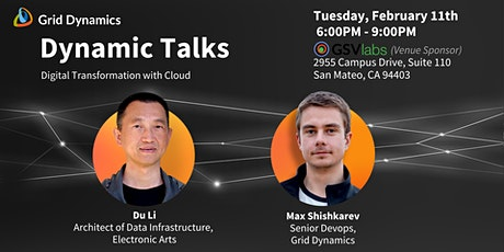 """Dynamic Talks Silicon Valley: """"Digital Transformation with Cloud"""" tickets"""
