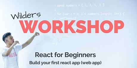 React for beginners - build your first react app (web app) tickets