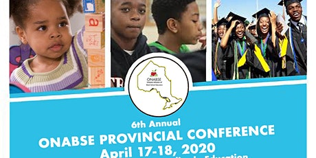 ONABSE 2020 Provincial Conference & AGM tickets