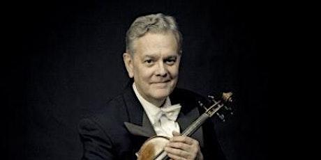 Guest Artist Masterclass - Richard Roberts, violin tickets