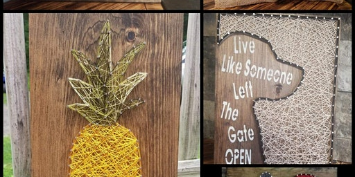 String Art with Lisa Bark for Life of Pottstown Fundraiser