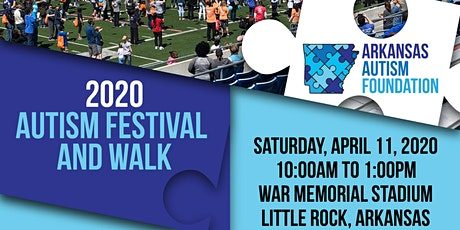 2020 Arkansas Autism Foundation Autism Festival and Walk  tickets