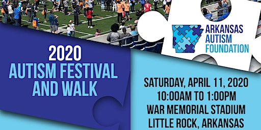 2020 Arkansas Autism Foundation Autism Festival and Walk
