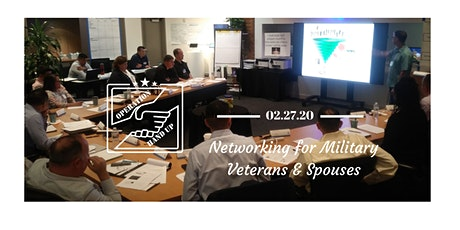 Operation HandUp - Networking for Transitioning Military & Spouses tickets