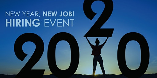 New Year, New Job Hiring Event
