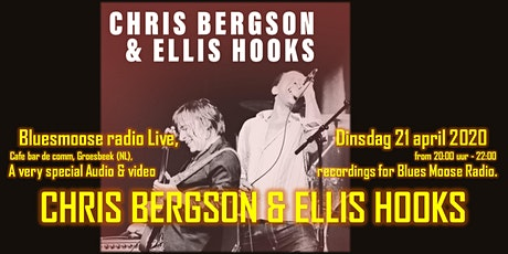 Chris Bergson & Eillis Hooks Live at Bluesmoose Radio (audio & video rec) tickets
