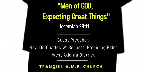 Men's Day Celebration:  Men of GOD, Expecting Great Things! tickets