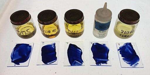 Color Explorations with Glass Enamel