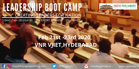 Youth Parliament Program - Leadership BootCamp  tickets