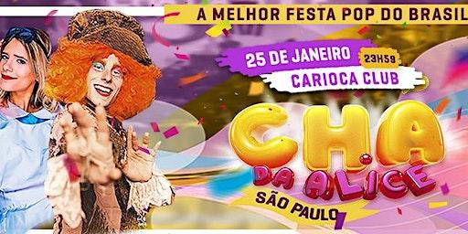 CHÁ DA ALICE SP - 25/01/20