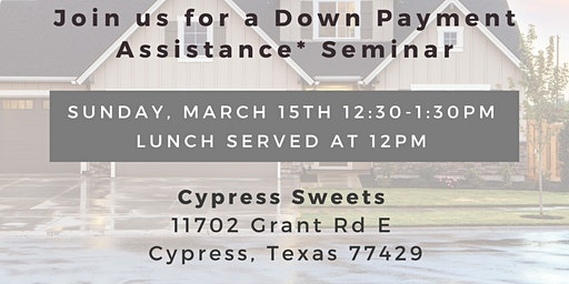 Complimentary Lunch & Learn: Homebuyer Down Payment Assistance Session