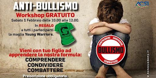Workshop gratuito Anti-bullismo a Sesto San Giovanni (Milano)