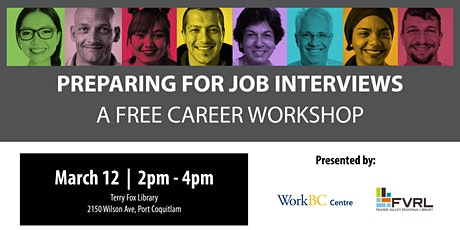 Preparing for Job Interviews: A Free Career Workshop (Port Coquitlam) tickets