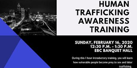 Human Trafficking Awareness Training tickets