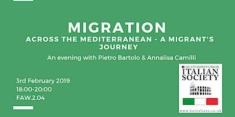 Migrating across the Mediterranean tickets