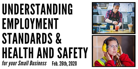 Understanding Employment Standards & Health and Safety  - Small Business tickets