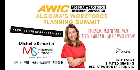 AWIC|  Algoma's Workforce Planning Summit tickets