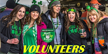 ShamRocked VOLUNTEER Quad State Beer Fest August 8, 2020 Hagerstown, MD tickets