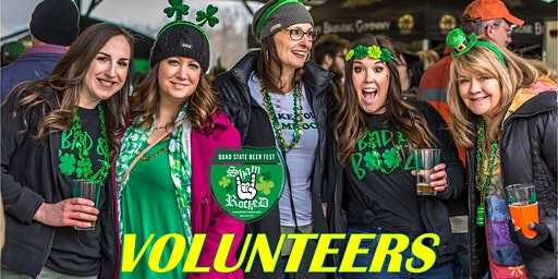 ShamRocked VOLUNTEER Quad State Beer Fest March 14, 2020 Hagerstown, MD