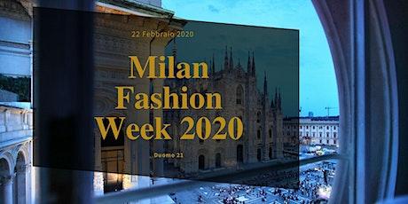Milan Fashion Week - Chic Aperitif @ Duomo 21 biglietti