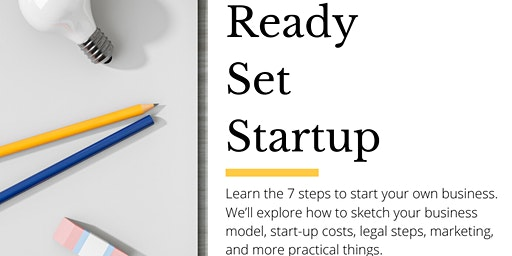 Ready, Set, Startup