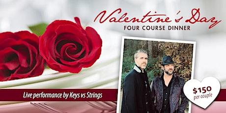 GB Valentine's Dinner with Keys Vs Strings tickets