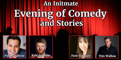 An Intimate Evening of Comedy and Stories tickets