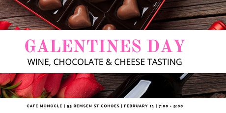 Galentines Day Wine, Chocolate & Cheese Tasting tickets