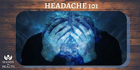 Headache 101 tickets