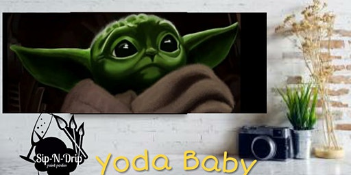 Yoda Baby Paint Party