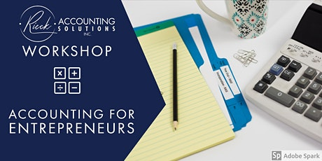 Accounting for Entrepreneurs tickets