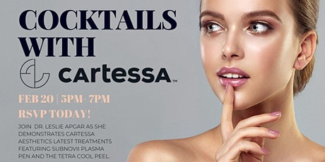 Cocktails with Cartessa tickets