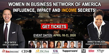 Women in Business - Influence, Impact and Income Secrets! tickets