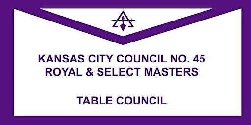 Table Council, Kansas City Council No. 45