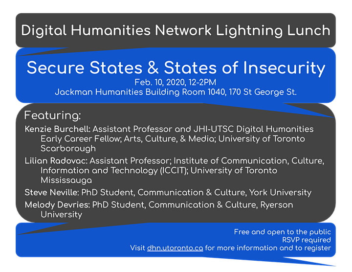 Lightning Lunch: Secure States & States of Insecurity image