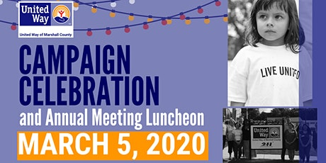 2020 United Way's Campaign Celebration and Annual Luncheon tickets