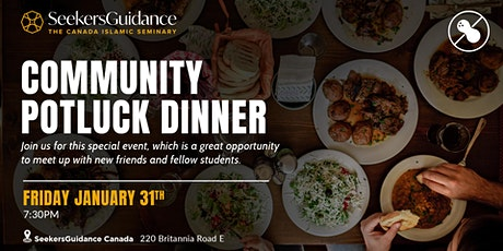 Community Potluck Dinner tickets