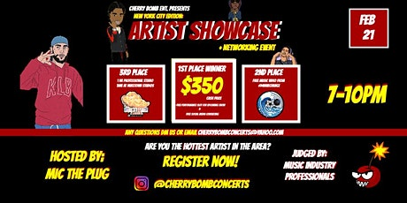 Artist Showcase & Networking Event : NY Edition tickets