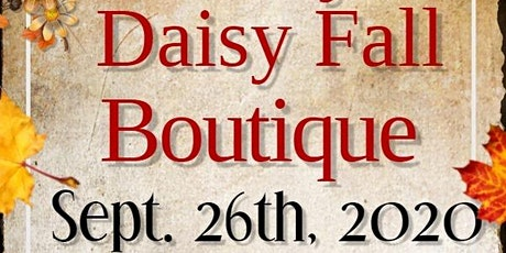 Crazy Daisy Fall Boutique tickets