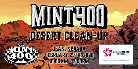 2020 Mint 400 Desert Clean-Up presented by Republic Services tickets