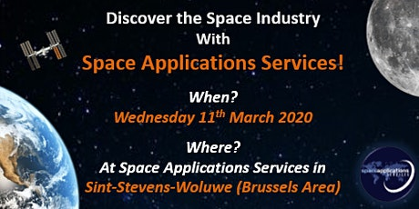Discover Space Science With Space Applications Services! billets