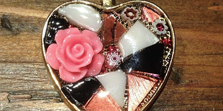 Mosaic Heart Shaped Pendant Workshop tickets