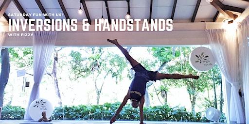 Inversions & Handstands Workshop with Fizzy
