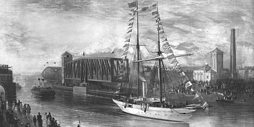 Celebrating 125 years of the Manchester Ship Canal.