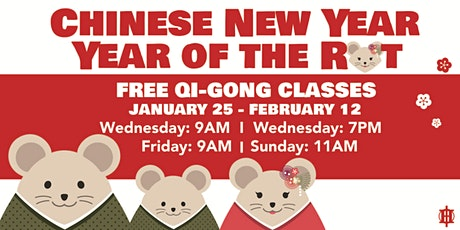Chinese New Year Qi Gong tickets