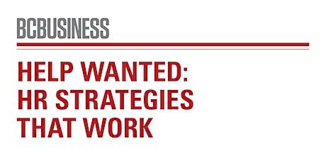 Help Wanted: HR Strategies That Work tickets