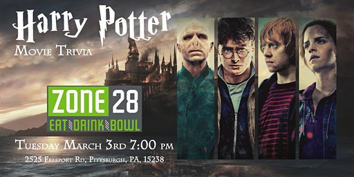 Harry Potter Movie Trivia at Zone 28