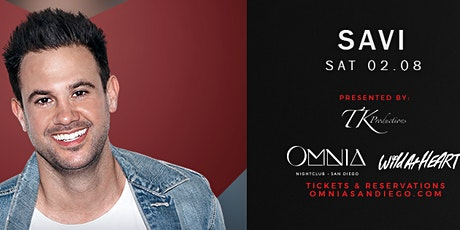 Complimentary Guest List to DJ Savi at OMNIA San Diego   Saturday, Feb.8th tickets