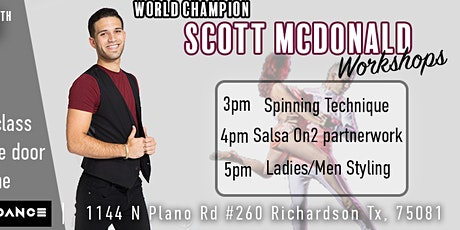 Scott's Salsa Workshops tickets